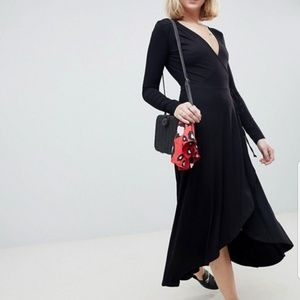 ASOS Dresses - ASOS Tall Long Sleeve Wrap Dress
